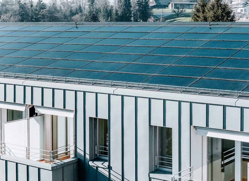 Solid Solrif solar roofs